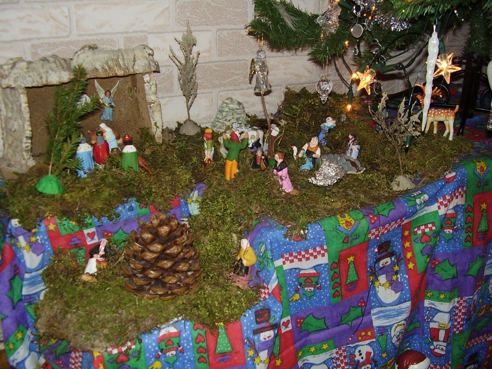 decoration creche de noel